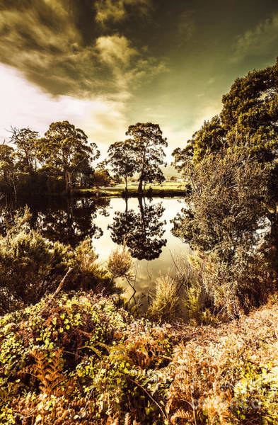 Photograph - Huonville River Reflections by Jorgo Photography - Wall Art Gallery