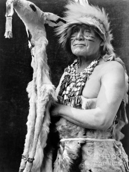 Photograph - Hupa Dancer, C1923 by Granger