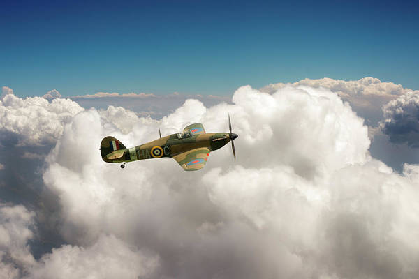Photograph - Hurricane Above Clouds by Gary Eason