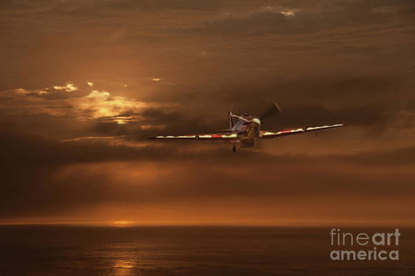 Propellors Digital Art - Hurricane Over The Sea by Tom Dolezal