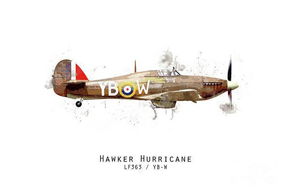 Hurricane Digital Art - Hurricane Sketch - Lf363_ybw by J Biggadike