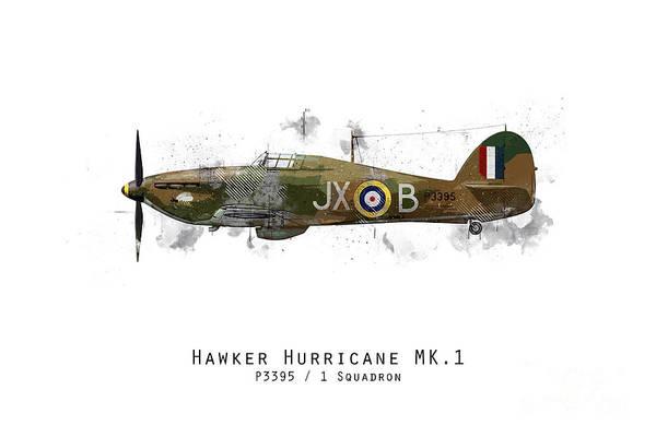 Hurricane Digital Art - Hurricane Sketch - P3395 by J Biggadike