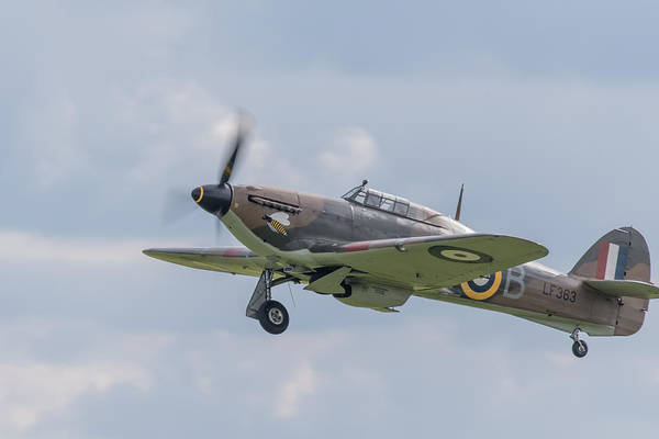 Photograph - Hurricane Taking Off by Gary Eason