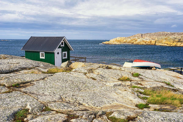 Photograph - Hut On The Rocks by James Billings