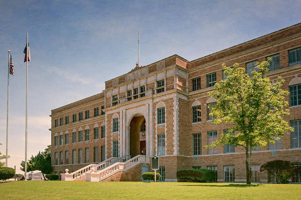 Photograph - Hutchinson County Courthouse by Joan Carroll