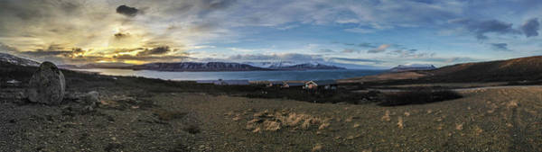 Photograph - Hvalfjorour Panorama by Geoff Smith