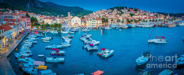 Wall Art - Photograph - Hvar Panorama by Inge Johnsson