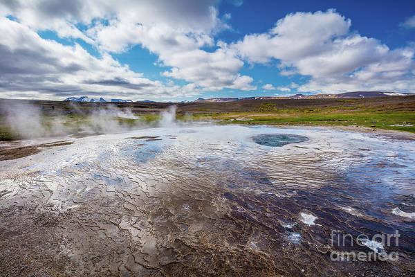 Photograph - Hveravellir Geyser by Inge Johnsson
