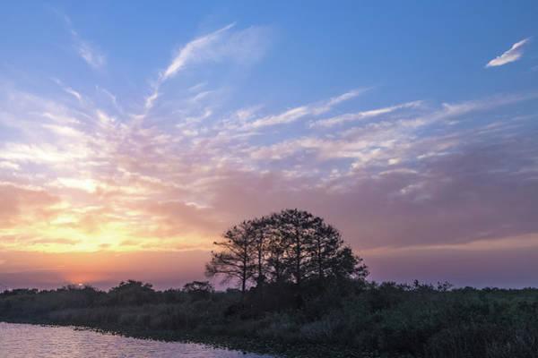 Alligator Alley Photograph - Hwy 75 Sunset by Joe Kopp