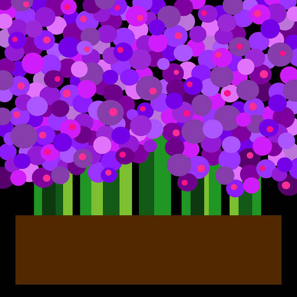 Digital Art - Hyacinth by Val Arie