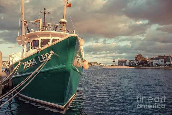 Narragansett Photograph - Hyannis Harbor Cape Cod Massachusetts by Edward Fielding