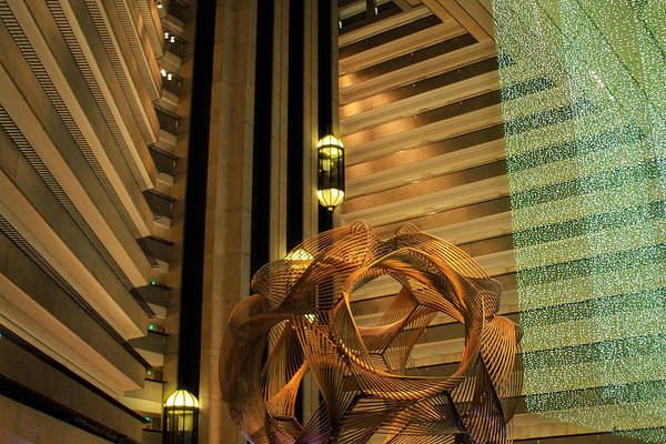 Photograph - Hyatt Regency Sf Atrium by Bonnie Follett