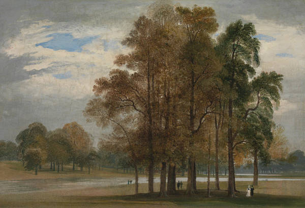 Painting - Hyde Park by John Martin
