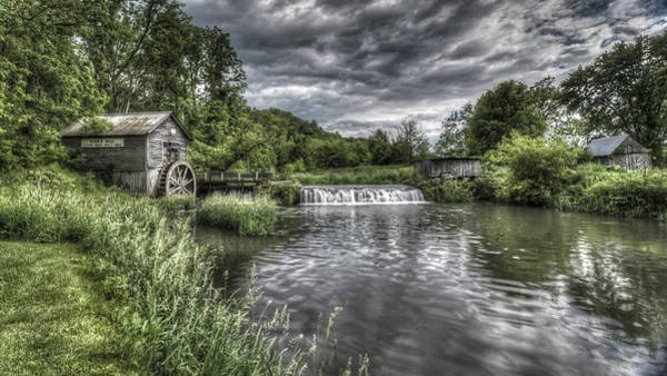 Photograph - Hyde's Mill by Brad Bellisle