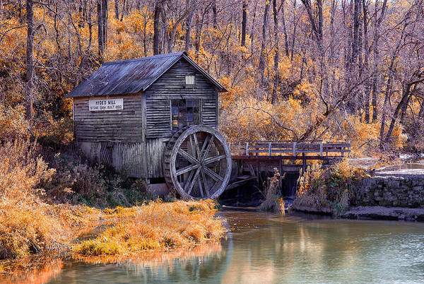 Photograph - Hydes Mill by CA  Johnson