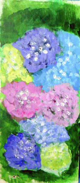 Painting - Hydrangeas #2 by Loretta Nash