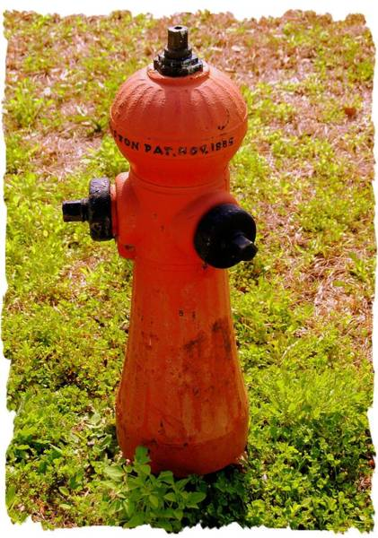 Water Hydrant Photograph - Hydrant 1885 by Andrew Armstrong  -  Mad Lab Images