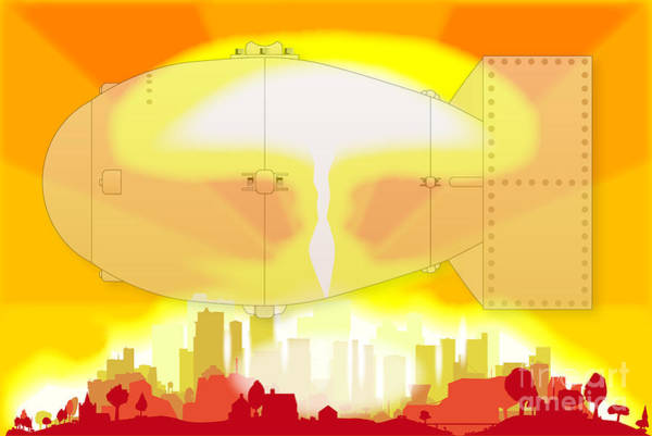 Atomic Weapons Digital Art - Hydrogen Bomb Blast by Bigalbaloo Stock