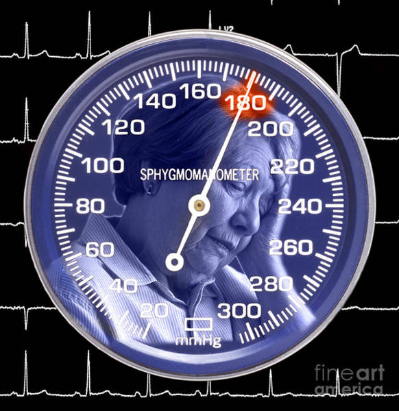Elder Care Photograph - Hypertension by George Mattei