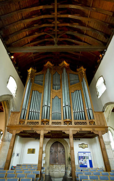Photograph - Hythe Pipe Organ by Jenny Setchell