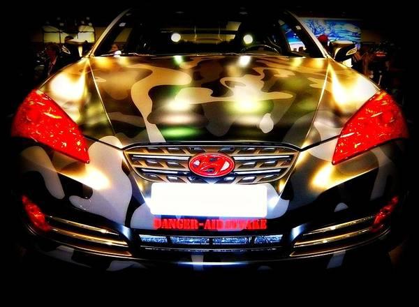 Carbon Fiber Photograph - Hyundai Genesis Street Concepts Coupe by Darin Bokeno