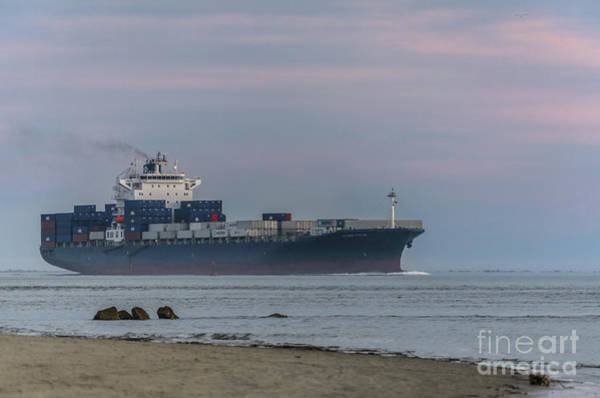 Photograph - Shipping Lanes - Charleston Sc by Dale Powell