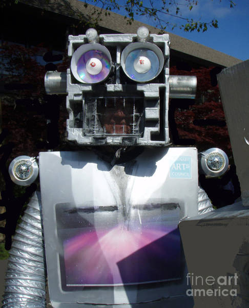 Mixed Media - I - Robot by Bill Thomson