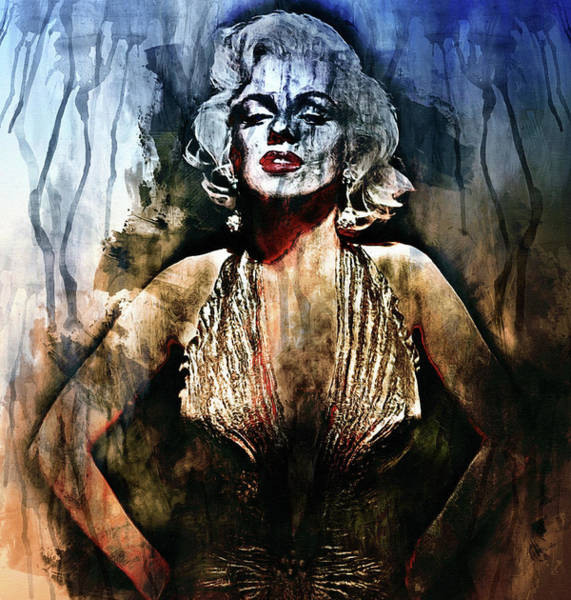 Painting - I Ain't Nobody's Baby - Contemporary Grunge by Isabella Howard