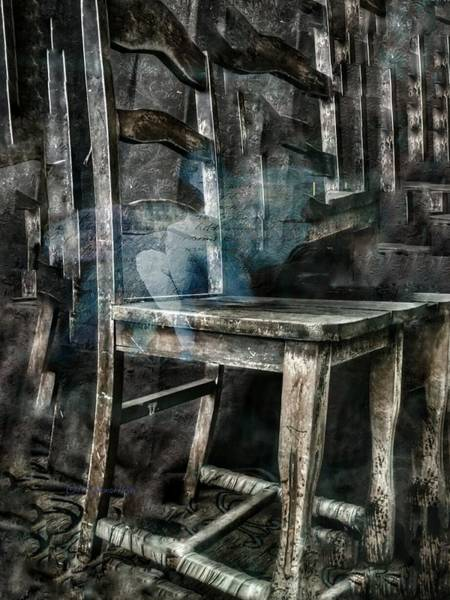 Digital Art - I Am A Chair by Delight Worthyn