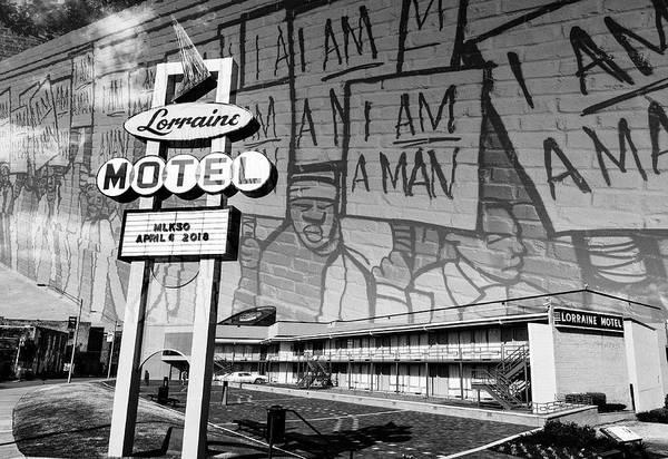 Mlk Digital Art - I Am A Man by Jim Cook