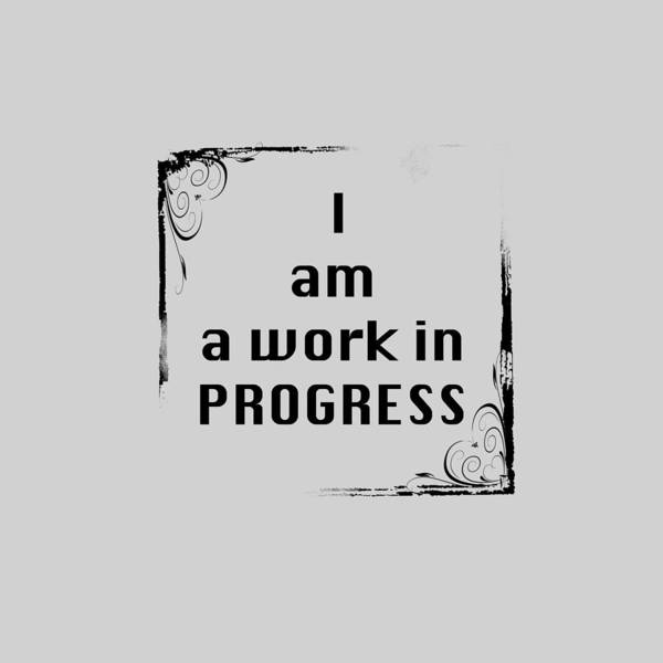 Photograph - I Am A Work In Progress 5489.02 by M K Miller