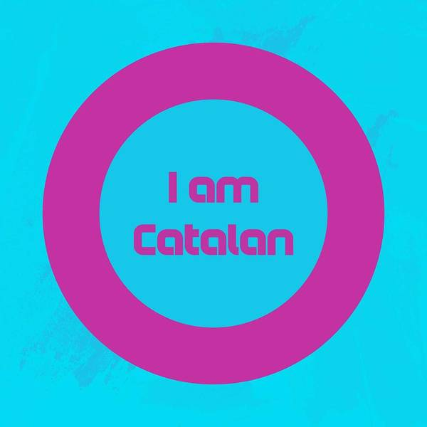 Painting - I Am Catalan Poster 2 by Celestial Images