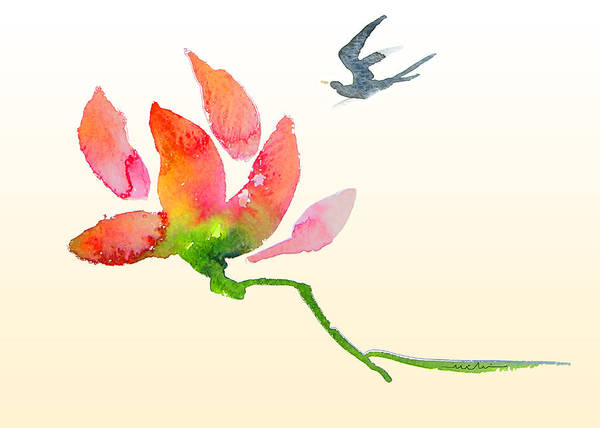 Painting - i Am Flying To You by Miki De Goodaboom
