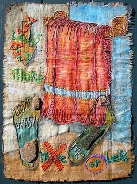 Wall Art - Drawing - I Am In All by Donna Zoll