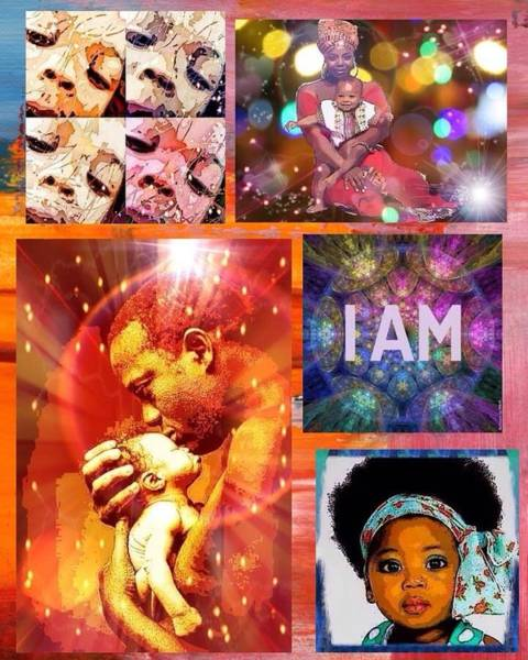 Digital Art - I Am  by Karen Buford