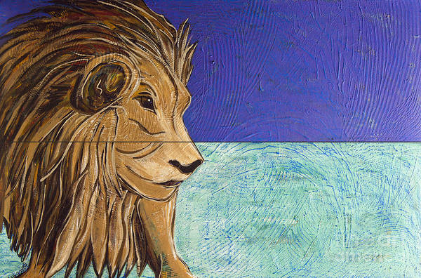 Painting - I Am Leo by Rebecca Weeks Howard
