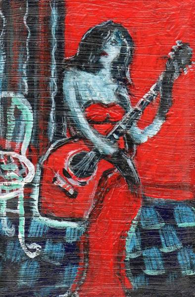 Painting - I Am Not A Jukebox by Dennis Tawes