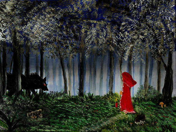 Painting - I Am Not Afraid by Bernd Hau