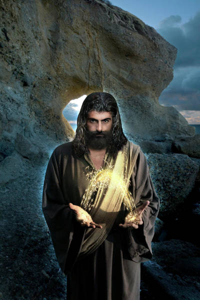 Photograph - I Am The Light Of The World - Jesus by Acropolis De Versailles