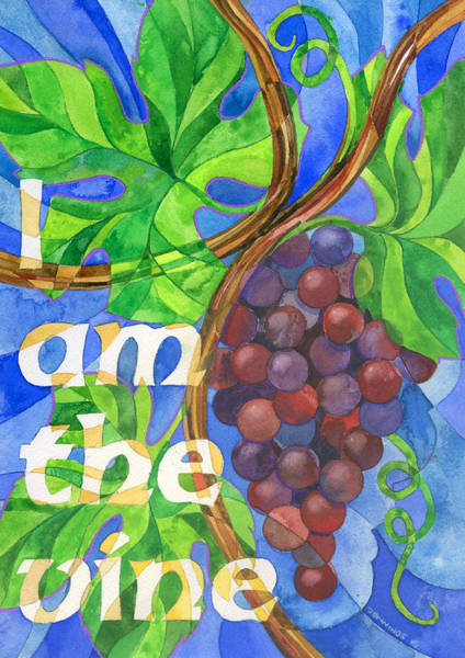 Believers Painting - I Am The Vine by Mark Jennings