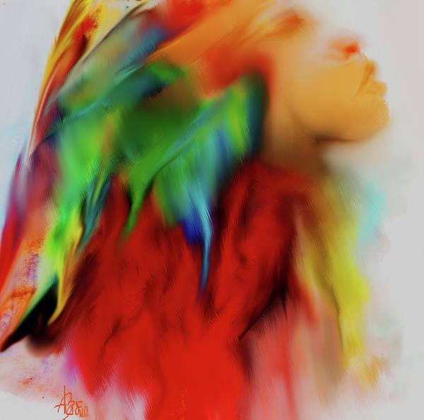 Bodie Digital Art - I Am by V Bodie
