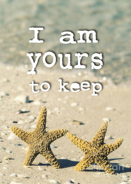 Photograph - I Am Yours To Keep by Edward Fielding