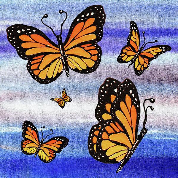 Wall Art - Painting - I Believe I Can Fly by Irina Sztukowski