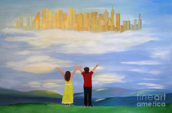 Painting - I Believe by Karen Jane Jones