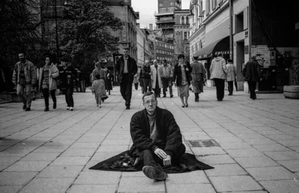 Blackandwhite Photograph - I Call To Witness by Bez Dan
