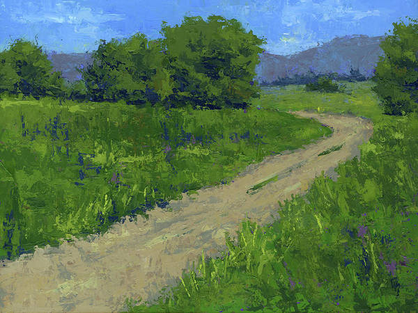 Painting - I Can See For Miles by David King
