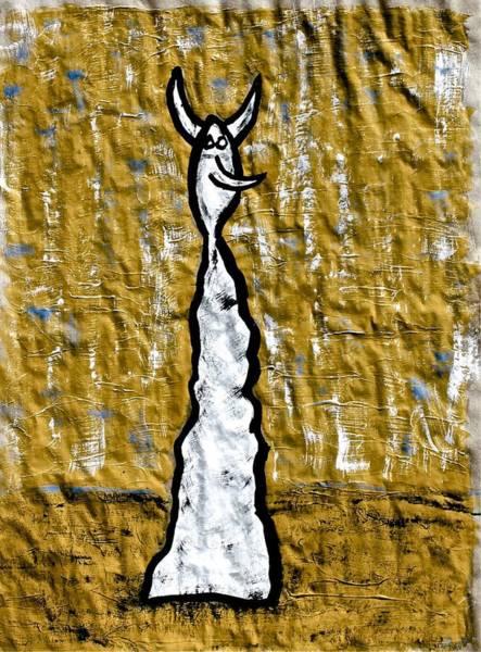 Painting - I Devil by Mario MJ Perron