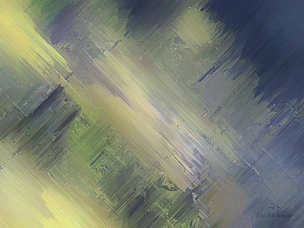 Painting - I - Elven Glade by John WR Emmett