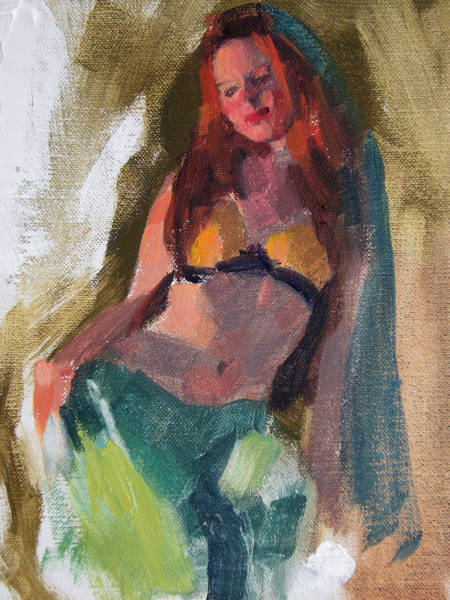 Genie Painting - I Dream Of Genie by Merle Keller