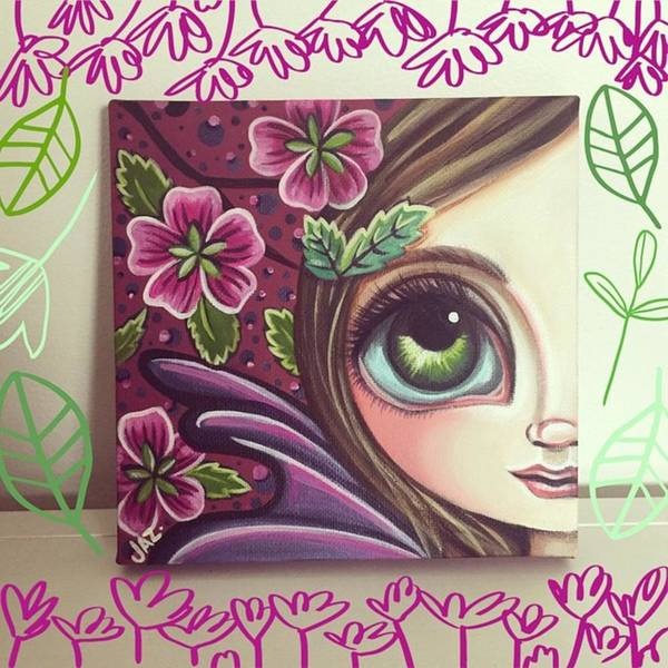 Fantasy Wall Art - Photograph - I Finished This Little Fairy This by Jaz Higgins